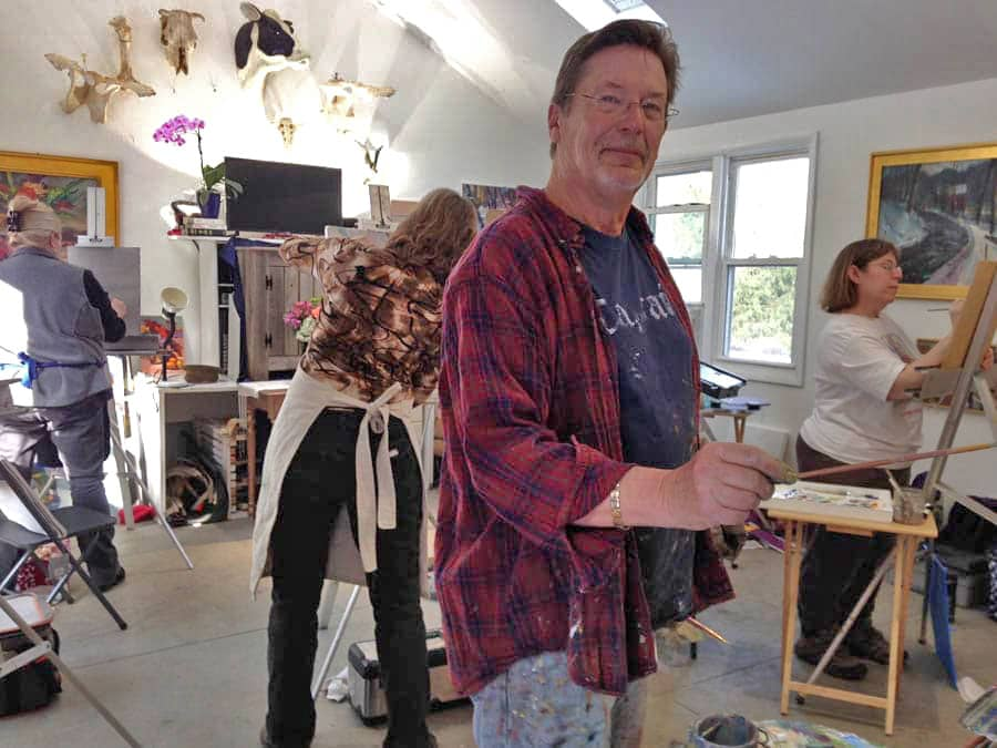 Founder of the Goldfinch Studio and Instructor Walt Bartman_goldfinch